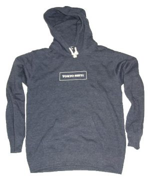 SWEAT-PARKA PULLOVER-NAVY